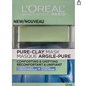 SALE🎈NWT L'Oreal Pure Clay Mask Sensitive Skin